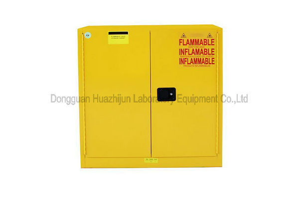 Steel Flammable Safety Cabinet , Double Wall Structure Safety Storage Cabinets