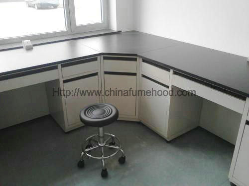 Testing Center Steel Lab Furniture DTC Hinge 2 Layers Reagent Rack