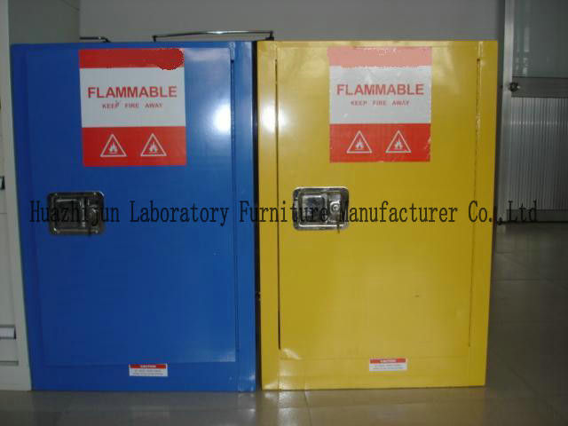 Non Riveting Flammable Safety Storage Cabinets With
