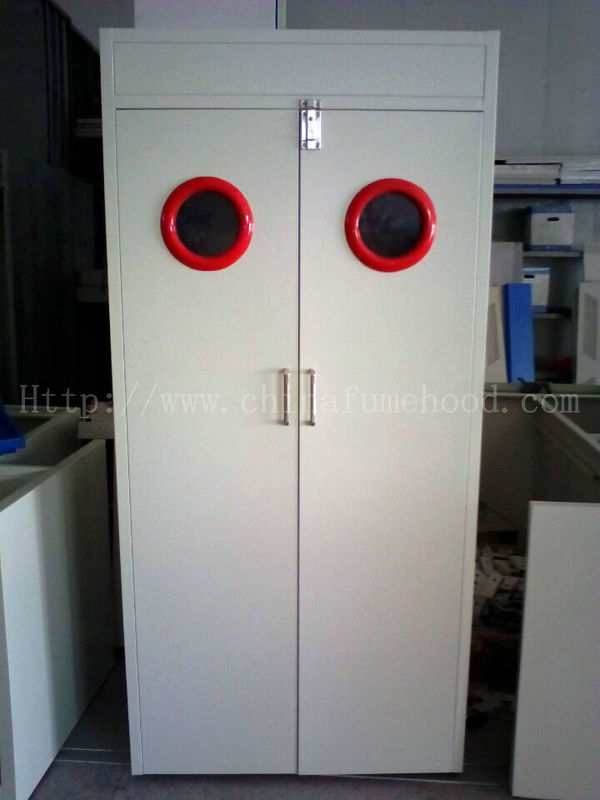 Steel Laboratory Gas Cylinder Storage Cabinet 600 900 1200 Width With Vent System