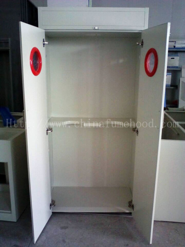 Smooth Opening Laboratory Storage Cabinets Sound Light