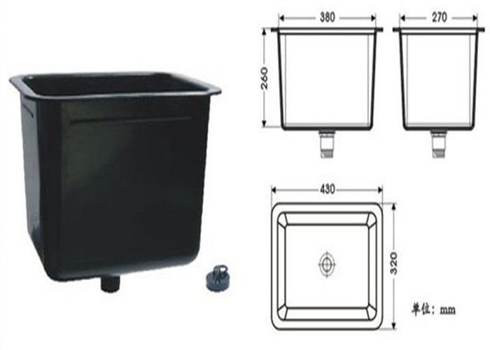 Chemistry / Hospital Corrosion Resistant Laboratory Sinks With PP Stopper
