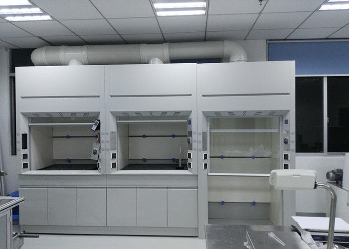 Full Steel Fume Hood , Metal Hospital / School Laboratory Fume Cupboards