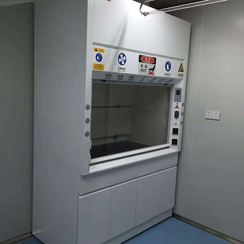Chemical Steel Fume Hood For Adjustable Air Volume Up To 0.5m/S