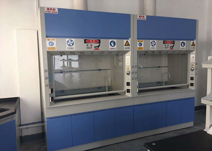Cold Rolled Steel Fume Hood For Scientists / Laboratory Vent