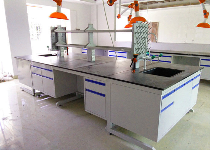 Epoxy Resin Top Chemistry Lab Bench Furniture Anti High