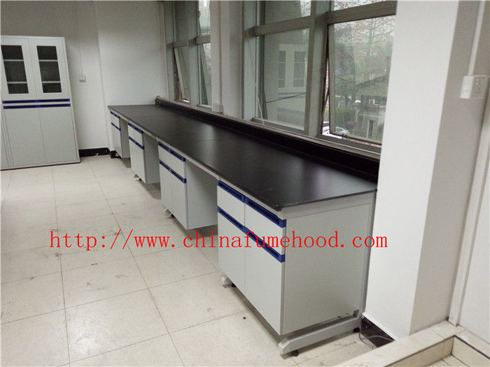 Resistance TO Acid / Alkali Chemistry Lab Cabinets and Countertops Furniture for inspection / publi bureau laboratory