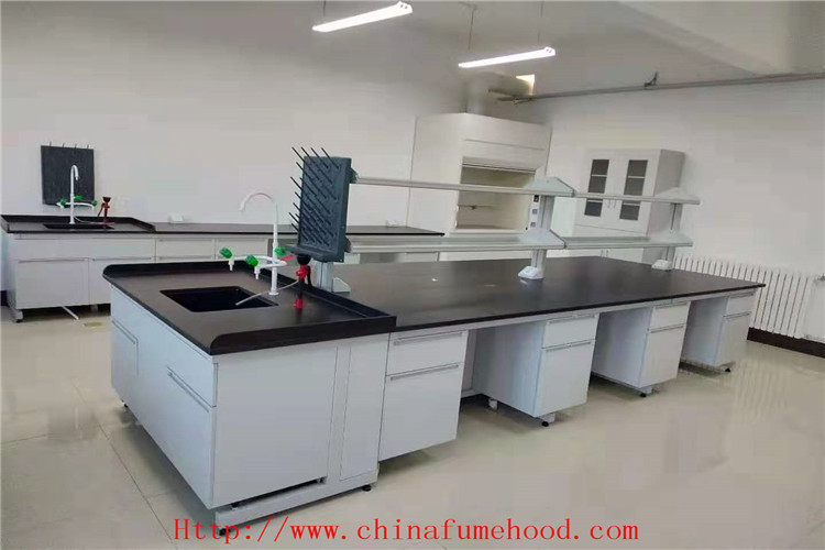 High Temperature Resistance Wood Lab Furniture  /  Lab Work Bench