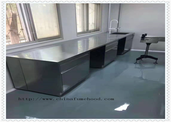 Customize  Size & Clolor Stainless Steel  Lab Furniture  / Metal Lab Table