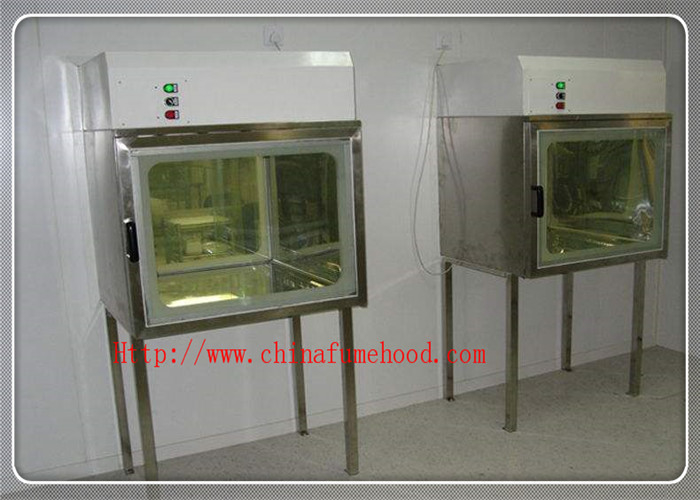 Laboratory Clean Transfer Window Pass Box Air Shower Unit Double - Layer Shell Inside And Outside