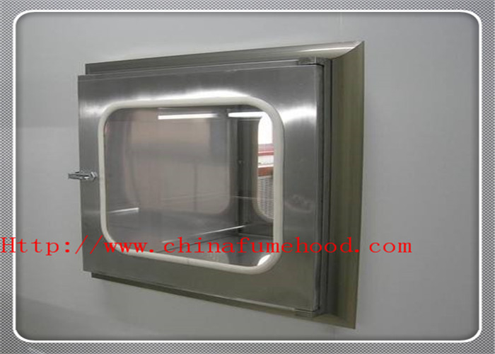 ISO CE Verified Pass Box Air Shower In Clean Room Transmission Window Pass Transfer Box