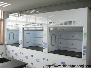 China Customized Laboratory Fume Hood Anti Corrosion PP Blower Adjust Door Glass distributor