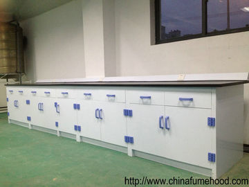 China PP Structure Chemistry Lab Furniture Anti - Corrosion Casework 1500*850mm distributor