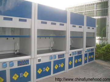 China White GRP Fume Hood in Laboratory Ventilation System