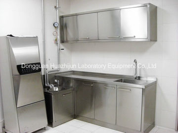 China School Stainless Steel Laboratory Furniture Bench Tables SGS Certificated distributor