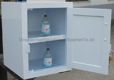 Polypropylene Acid Storage Cabinets With PP Structure Drawers & Doors
