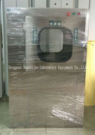 Stainless Steel Air Shower Pass Thru Box Cleanroom With Electronic Interlocking System