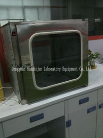 Stainless Steel Pass Box / Pass Through Box Cleanroom / Pass Box For Laboratory Use