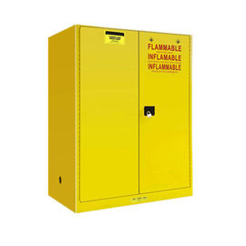 China Steel Flammable Safety Cabinet , Anti Explosion Flammable Solvent Cabinet distributor