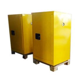 China Micro Flammable Safety Cabinet 889X591X457mm Laboratory Chemicals Storage distributor
