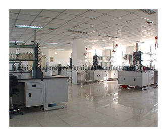 China Cold Rolled Steel Science Lab Benches C / H Frame Corrosion Resistance Worktops distributor