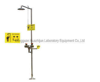 304 Stainless Steel Safety Station Shower And Eye Wash China Manufacturer