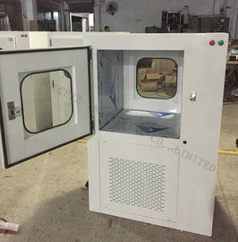 Pass Box Interlocking System / Dynamic Pass Box For Cleanroom / Air Shower Pass Through Boxes