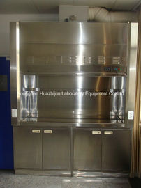 China Split Type Stainless Steel Fume Hood , 1750m3/H Air Volume Chemical Fume Hood factory