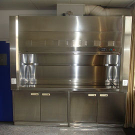 China Cheap Stainless Steel Fume Hood For Lab Furnitur Manufacturer factory