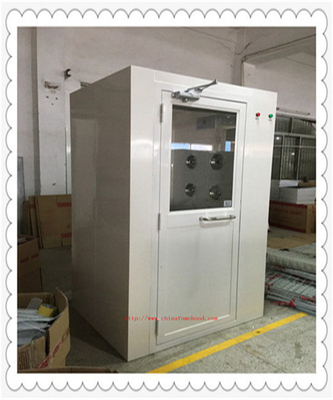China Medical Health Cleanroom Pass Through Box  /  Stainless Steel Air Shower factory