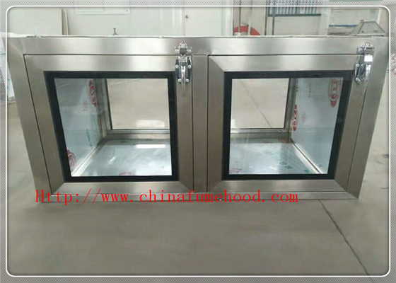 China Professional Clean Room Equipment Pass Through Window 220V / 50Hz factory