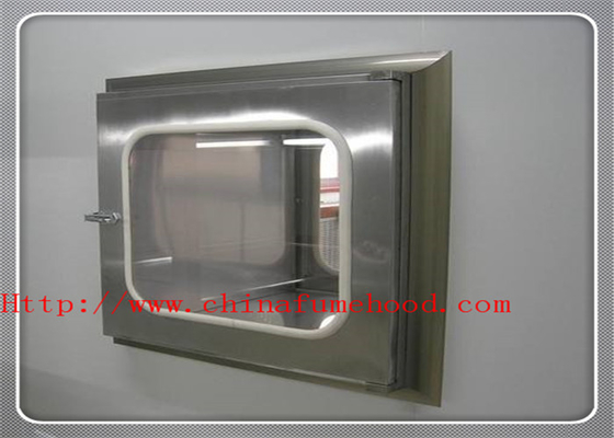 China ISO CE Verified Pass Box Air Shower In Clean Room Transmission Window Pass Transfer Box factory