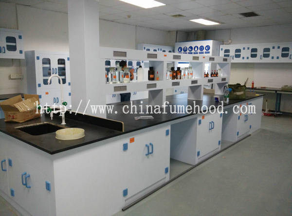 Full Polypropylene Chemical Lab Furniture Colorful Worktop PP Drip Rack