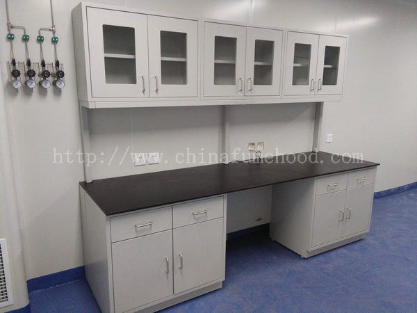 Chemical Resistant Chemistry Lab Furniture C / H Frame Cold - Rolled Steel Body
